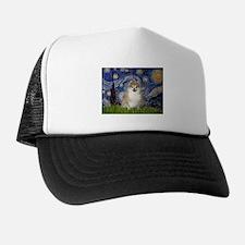 Starry/Pomeranian (#1) Trucker Hat