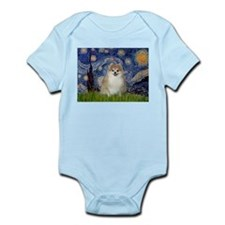 Starry/Pomeranian (#1) Infant Bodysuit
