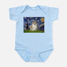 Starry/Pomeranian (#1) Infant Bodysuit