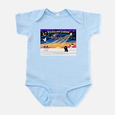 XmasSunrise/Poodle (min) Infant Bodysuit