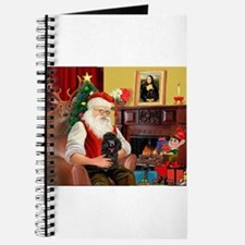 Santa Min Poodle (b) Journal