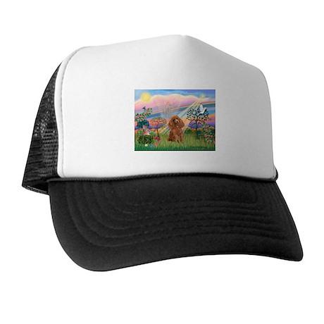 Cloud Angel/ Poodle (Apricot) Trucker Hat