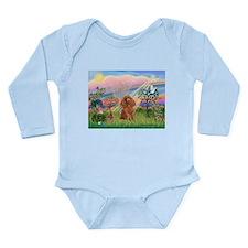 Cloud Angel/ Poodle (Apricot) Long Sleeve Infant B