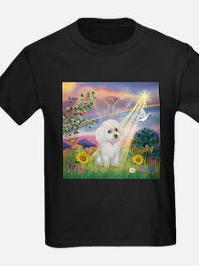 Cloud Angel & White Poodle T