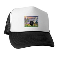 Cloud Angel & Poodle #17 Trucker Hat