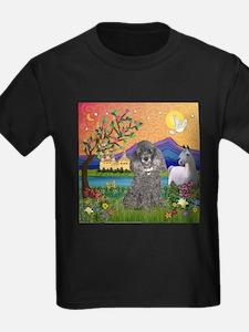 Silver Poodle Fantasy T