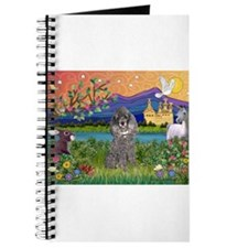 Silver Poodle Fantasy Journal