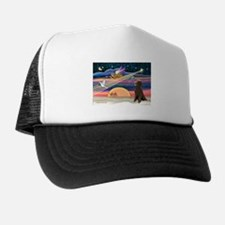 XmasStar/Poodle (STC) Trucker Hat