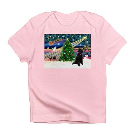 XmasStar/Poodle (ST-B) Infant T-Shirt