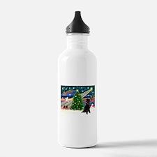 XmasStar/Poodle (ST-B) Water Bottle