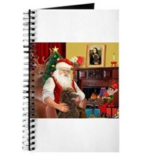 Santa's Std Poodle(c) Journal