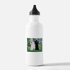 Bridge & Poodle Pair Water Bottle