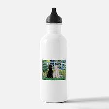 Bridge & Poodle Pair #2 Water Bottle