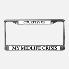 My MidLife Crisis License Plate Frame