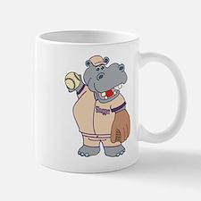 Softball Hippo Mug