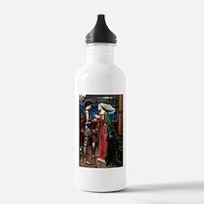 Tristan & Black Poodle Water Bottle