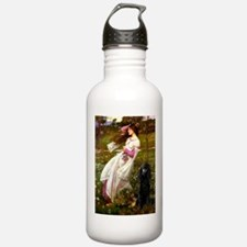 Windflowers Standard Poodle Water Bottle