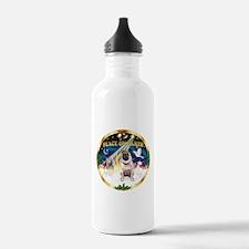 XmasSunrise/Pug Water Bottle