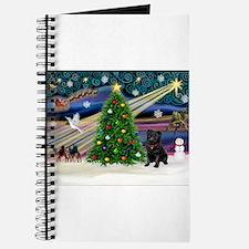 Xmas Magic & Black Pug Journal