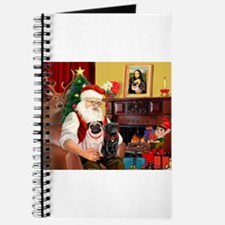 Santa's Two Pugs (P1) Journal