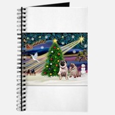 X Mas Magic & Pug Pair Journal