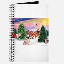 Santa's Treat/Pug (#2F) Journal