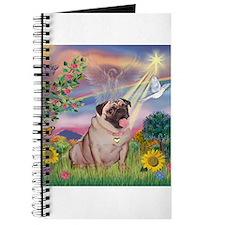 Cloud Angel & Fawn Pug Journal