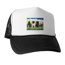 Pugs are Family (2) Trucker Hat
