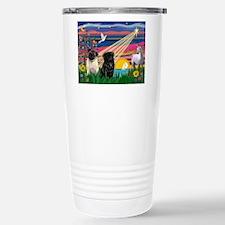 Pug Magical Night Travel Mug