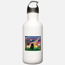 Pug Magical Night Water Bottle