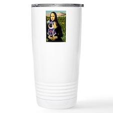 Mona Lisa & Sir Pug Travel Mug