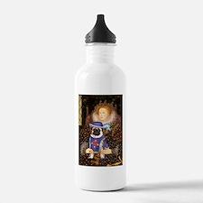 Queen & Sir Pug Water Bottle