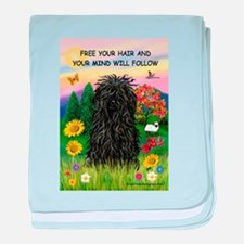 Free Your Hair.....Puli baby blanket