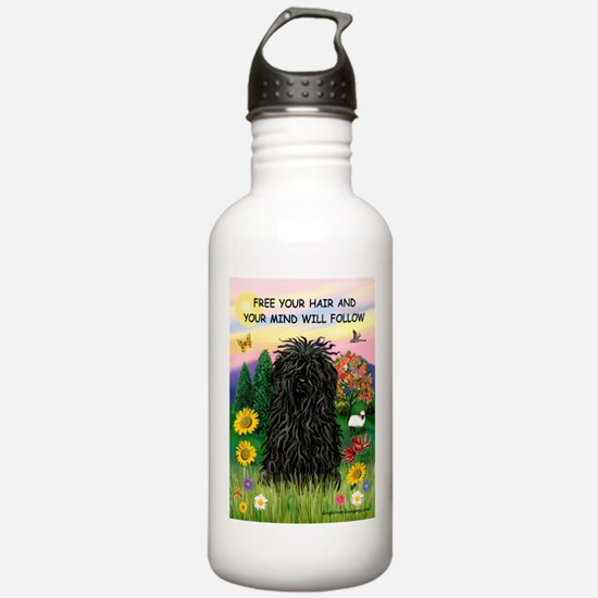 Free Your Hair.....Puli Water Bottle