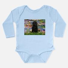 Cute Tiles Long Sleeve Infant Bodysuit