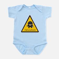 ninjaneer_star_warning_dark Body Suit