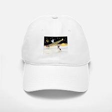 XmasDove/Rat Terrier 1 Baseball Baseball Cap