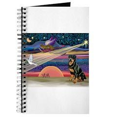 Xmas Star & Rottie Journal