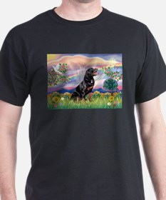 Cloud Angel & Rottweiler T-Shirt