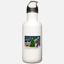 Xmas Magic & St Bernard Water Bottle