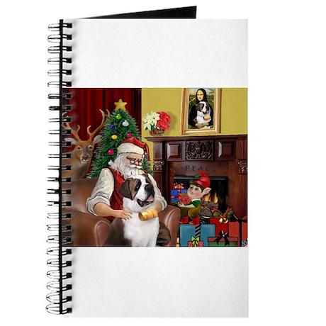 Santa's Saint Bernard Journal