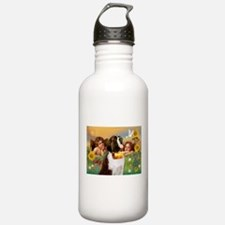 Two Angels & Saint Bernard Water Bottle