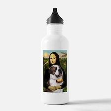 Cute Saint bernards Water Bottle