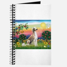 Bright Country with Saluki Journal