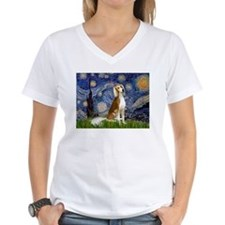 Starry Night & Saluki Shirt