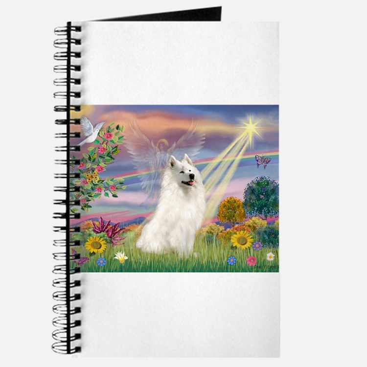 Cloud Angel & Samoyed Journal