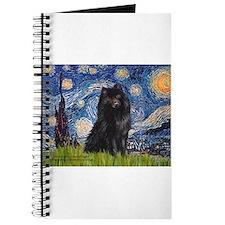 Starry Night Schipperke Journal