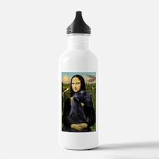 Mona & Giant Schnauzer Water Bottle