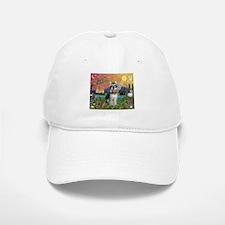 Schnauzer #8 in Fantasyland Baseball Baseball Cap