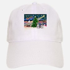 Xmas Magic & Min S Baseball Baseball Cap